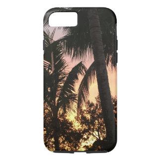 Capa iPhone 8/ 7 Por do sol da palmeira