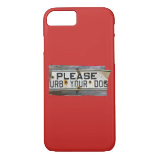 Capa iPhone 8/ 7 Por favor urb do `