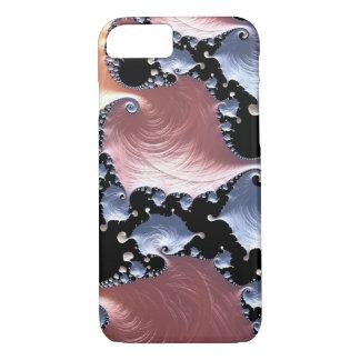 Capa iPhone 8/ 7 Porcelana líquida do Fractal