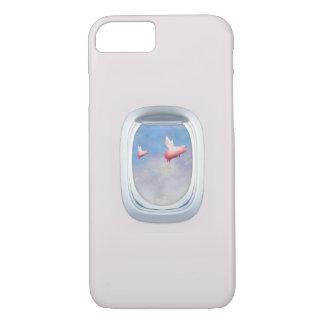 Capa iPhone 8/ 7 Porcos que voam altamente