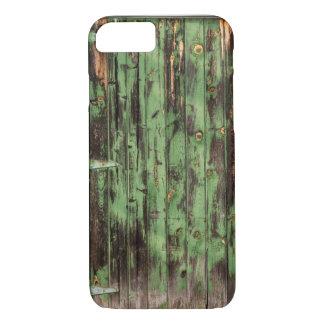 Capa iPhone 8/ 7 Porta de celeiro rústica velha