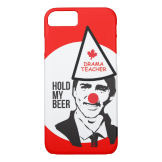 Capa iPhone 8/ 7 Posse de Justin Trudeau meu palhaço Canadá da