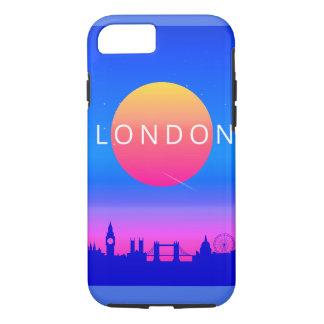 Capa iPhone 8/ 7 Poster de viagens dos marcos de Londres