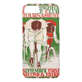 Capa iPhone 8/ 7 Poster retro 1895 da bicicleta