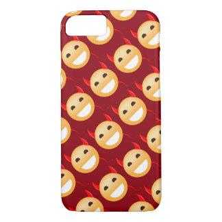 Capa iPhone 8/ 7 Pouco diabo de Emoji