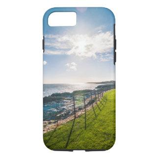 Capa iPhone 8/ 7 Praia rochosa em Ireland (Greystones)