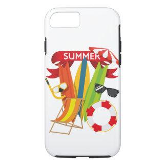 Capa iPhone 8/ 7 Praia Watersports do verão