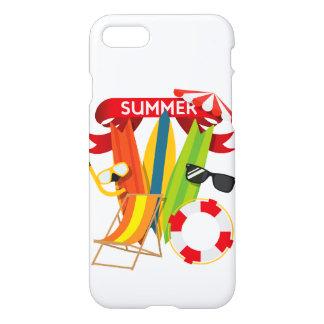 Capa iPhone 8/7 Praia Watersports do verão