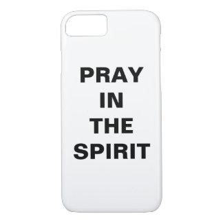 """Capa iPhone 8/ 7 """"Pray o iPhone de Apple no espírito"""" 8/7 de caso"""