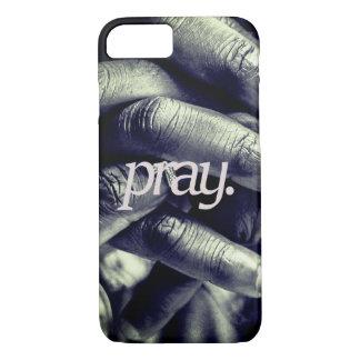 Capa iPhone 8/ 7 pray. por todo o lado no impressão