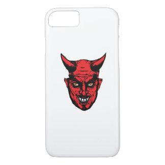 Capa iPhone 8/ 7 Presente do diabo do horror do Dia das Bruxas