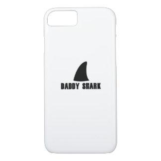 Capa iPhone 8/ 7 Presente do tubarão para homens dos pais e dos