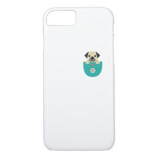 Capa iPhone 8/ 7 Presente engraçado do animal de estimação do amor