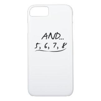 Capa iPhone 8/ 7 Presente engraçado do professor da dança e 5 6 7