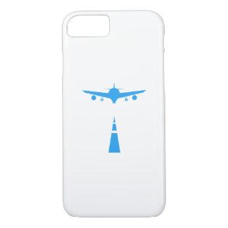 Capa iPhone 8/ 7 Presente engraçado piloto do vôo do aviador dos