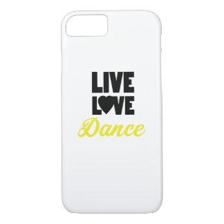 Capa iPhone 8/ 7 Presente vivo do dançarino da dança da dança do