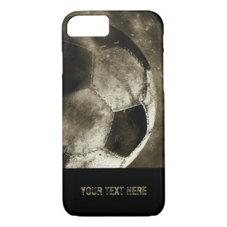 Capa iPhone 8/ 7 Presentes legal da bola de futebol | do Sepia do