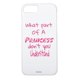 Capa iPhone 8/ 7 Princesa