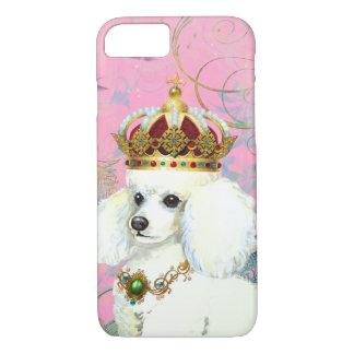 Capa iPhone 8/ 7 Princesa branca da caniche