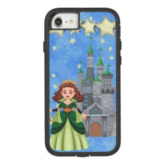 Capa iPhone 8/ 7 Princesa do livro de histórias no verde com