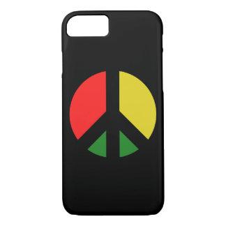 Capa iPhone 8/ 7 Proibição de Rasta o símbolo de paz da bomba CND