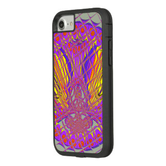 Capa iPhone 8/ 7 Projeto colorido surpreendente do teste padrão da