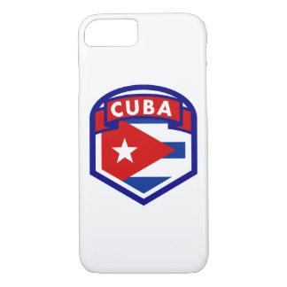 Capa iPhone 8/ 7 Protetor da bandeira de Cuba