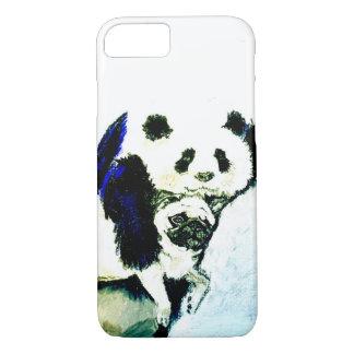 Capa iPhone 8/ 7 Pug e panda