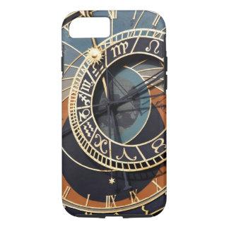 Capa iPhone 8/ 7 Pulso de disparo astronômico histórico de Praga