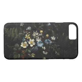 Capa iPhone 8/ 7 Pulverizador das flores e das samambaias por