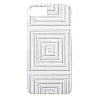 Capa iPhone 8/ 7 Quadrado branco geométrico