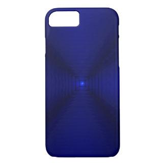 Capa iPhone 8/ 7 Quadrados dos azuis cobaltos