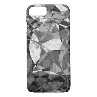 Capa iPhone 8/ 7 Quadrados preto e branco nos círculos