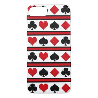Capa iPhone 8/ 7 Quatro ternos do cartão