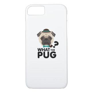 Capa iPhone 8/ 7 Que o filhote de cachorro engraçado do animal de