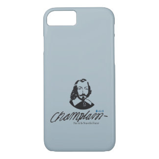 Capa iPhone 8/ 7 Quebeque Samuel Champlain 1608 Pai Notícia-França
