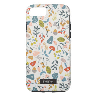 Capa iPhone 8/ 7 Queda botânica