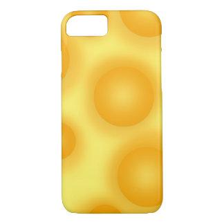 Capa iPhone 8/ 7 Queijo suíço amarelo