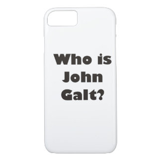 Capa iPhone 8/ 7 Quem é John Galt?