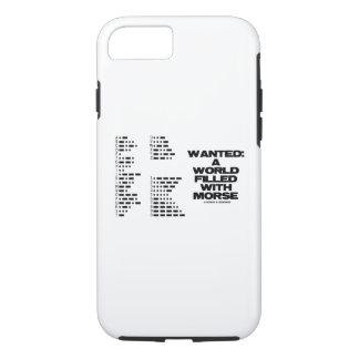 Capa iPhone 8/ 7 Querido: Um mundo enchido com o humor do código do