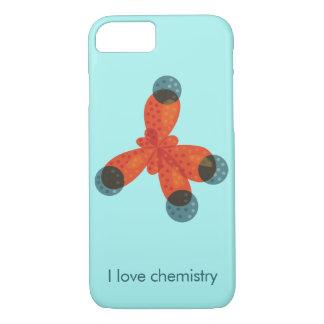 Capa iPhone 8/ 7 Química feita sob encomenda do amor da molécula do
