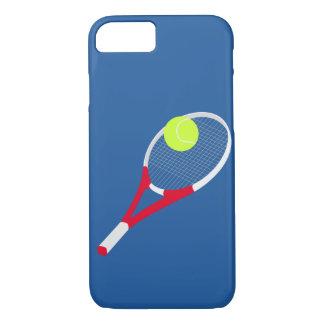 Capa iPhone 8/ 7 Raquete de tênis e bola de tênis