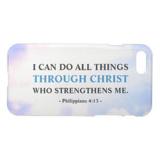 Capa iPhone 8/7 Raro inspirador das citações da fé da bíblia