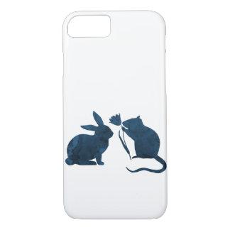 Capa iPhone 8/ 7 Rato e coelho