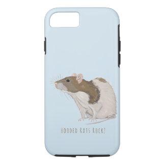 Capa iPhone 8/ 7 Rato encapuçado da cutia encapuçado da rocha dos