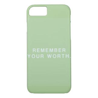 Capa iPhone 8/ 7 recorde seu valor
