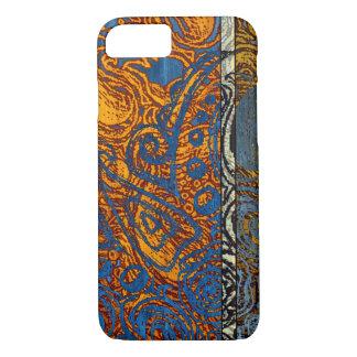 Capa iPhone 8/ 7 Redemoinho azul de Jean de três tons