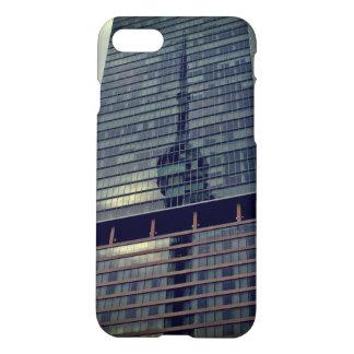 Capa iPhone 8/7 Reflexão da torre da NC