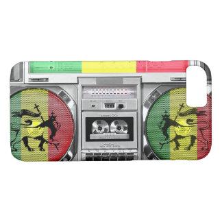 Capa iPhone 8/ 7 reggae do boombox