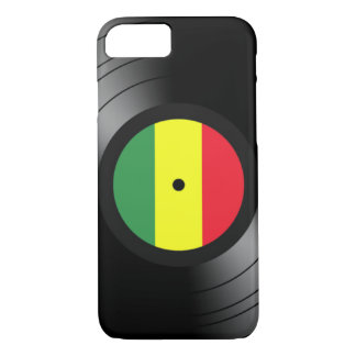 Capa iPhone 8/ 7 Reggae do vinil